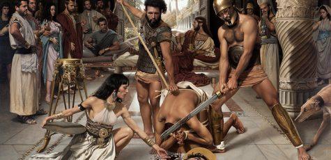 The Beheading of Saint John the Baptist_150cmx200cm_59x78,74In_Oil on Linen
